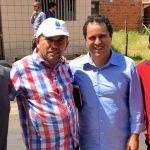 Osmar Filho visita obras na Vila Riod com o Prefeito Edivaldo Holanda Júnior