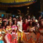 Osmar Filho participa do batizado do Cacuriá Assa Cana e Cacuriá Mirim Rabo de Saia.