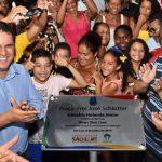 Osmar Filho participa de inauguração da Praça da Criança e da Praça Frei José