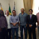 Osmar Filho participa de reunião do Movimento Reggae com prefeito Edivaldo