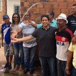 Osmar Filho participa de entrega de obra no Coroadinho