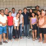 Visita dos companheiros do Buriti – São Francisco