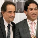 Osmar Filho recebe medalha Tiradentes: Mérito Eleitoral
