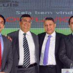 Vereadores de São Luís recebem na Câmara Municipal o Governador Flávio Dino e o Prefeito Edivaldo Holanda Jr.