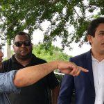 Osmar Filho visita bairros afetados pela forte chuva que atingiu a capital