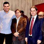 Osmar Filho participa da cerimônia de posse de Pedro Lucas Fernandes