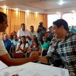 Em Codó, Osmar Filho participa de ato em apoio ao Deputado Weverton Rocha para o Senado