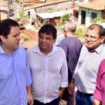 Vereador Osmar Filho participa do lançamento do Projeto Asfalto na Rua