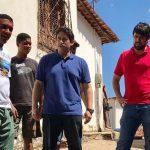 Osmar Filho acompanha execução de serviços no Residencial Paraíso