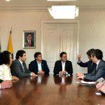 Vereador Osmar Filho recepciona o embaixador de Portugal em São Luís