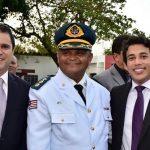 Osmar Filho participa da posse do Tenente Coronel Capelão do Corpo de Bombeiros
