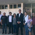 Vereador Osmar Filho e secretário de saúde Lula Fylho visitam unidades de saúde do município