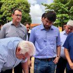 Vereador Osmar Filho participa da assinatura da Ordem de Serviço para revitalização de Praça no Jardim América