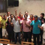 Parlamentares se reúnem para declarar apoio a Osmar Filho à presidência da Câmara