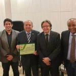 Osmar Filho prestigia evento que homenageia os 30 anos da Academia Maranhense de Medicina