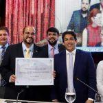 Vereador Osmar Filho participa de solenidade que concedeu título de cidadão ludovicense ao secretário de Governo