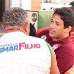 Osmar Filho é recepcionado por moradores em São Luís