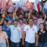 Em caminhada, Osmar Filho reforça projeto de Weverton para o Senado