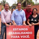 Comunidade do bairro Santa Clara recebe nova etapa de obras de urbanização