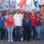 """""""Ele representa o povo trabalhador"""", disse Osmar Filho sobre Weverton"""