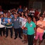 Comunidade do Gapara recebe o vereador Osmar Filho