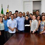 Osmar Filho participa de encontro cordial com lideranças políticas em São Luís
