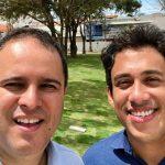 Osmar Filho visita obras no centro da cidade