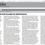 399 ANOS COMO UM DOS PILARES DA DEMOCRACIA