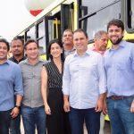 Osmar Filho destaca benefícios de novos ônibus para a capital