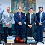 Osmar Filho visita procurador-geral de Justiça