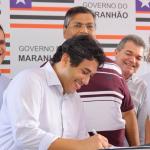 Osmar Filho participa de assinatura de OS para urbanização da Ilhinha