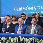 Osmar Filho prestigia posse da diretoria da OAB-MA e destaca continuação de parceria em projetos com a CMSL
