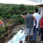 Osmar Filho e vereadores visitam bairros alagados pela chuva em São Luís