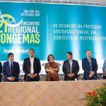 Osmar Filho participa de abertura do 21° CONGEMAS, e destaca o socioassistencialismo como política de cidadania para a população