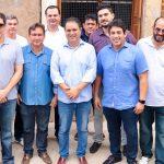 Osmar Filho acompanha prefeito na vistoria das obras de reestruturação de casarão destinado para habitação social no Centro Histórico