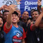 Osmar Filho realiza com sucesso o XI Torneio do Trabalhador de Futebol de Praia