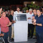 Osmar Filho prestigia inauguração da Praça Bom Jesus, no Coroadinho