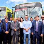 Osmar Filho participa da entrega de novos ônibus para o sistema de transporte urbano de São Luís