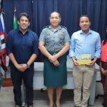 Osmar Filho visita Batalhão Escolar da PM e enaltece trabalho da ronda escolar em São Luís