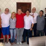 Osmar Filho se reúne com comunicadores esportivos