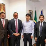 Em Brasília, Osmar Filho dialoga com deputados e senadores acerca de novos investimentos para capital
