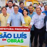 Osmar Filho destaca importância do programa 'São Luís em Obras', no bairro do Vinhais