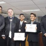 Osmar Filho participa da diplomação do Prefeito Mirim