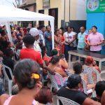Osmar Filho visita comunidade atingida pelas chuvas em São Luís