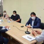 Osmar Filho discute ações da Secretaria da Saúde no combate a Covid-19 em São Luís