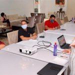 Em reunião com titular da SEMCAS, Osmar Filho discute ações de combate ao COVID-19