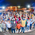 Osmar Filho e Neto Evangelista se reúnem com moradores do Sacavém