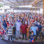 Em evento de pré-campanha, Osmar Filho e Neto Evangelista são ovacionados por moradores do São Francisco