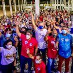 Osmar Filho é aclamado  por moradores da região Itaqui-Bacanga
