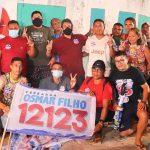 Moradores do São Francisco enaltecem trabalho de Osmar Filho